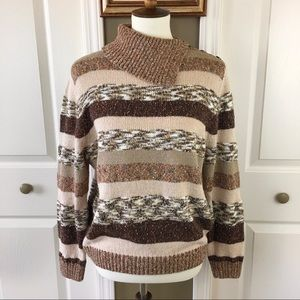 Fun Multi-Color Sweater By Alfred Dunner